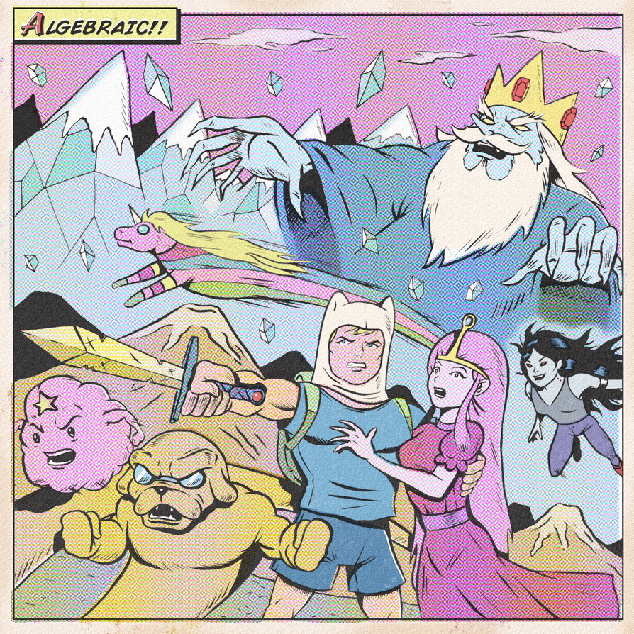 ADVENTURE TIME by paintmarvels
