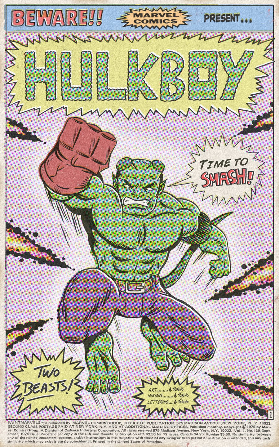 HULKBOY FROM HELL by paintmarvels