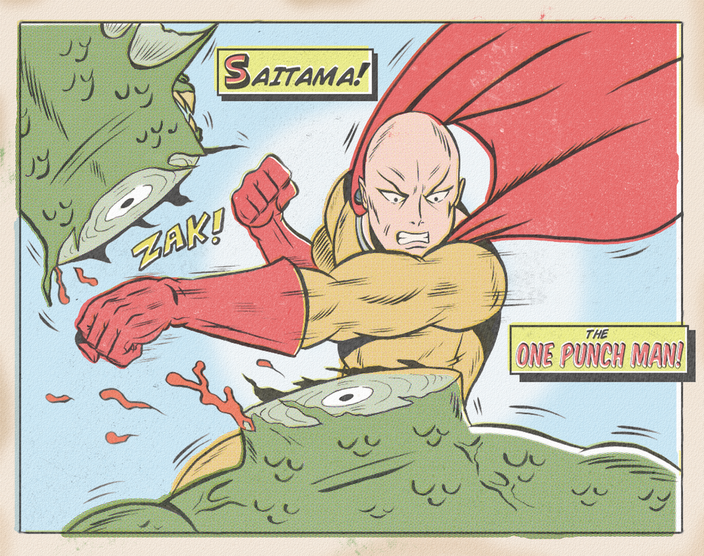 ONE PUNCH MAN by paintmarvels
