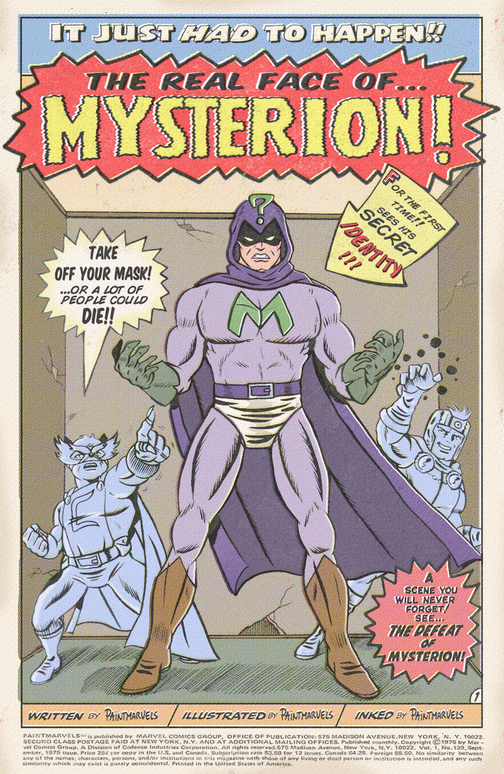 MYSTERION by paintmarvels