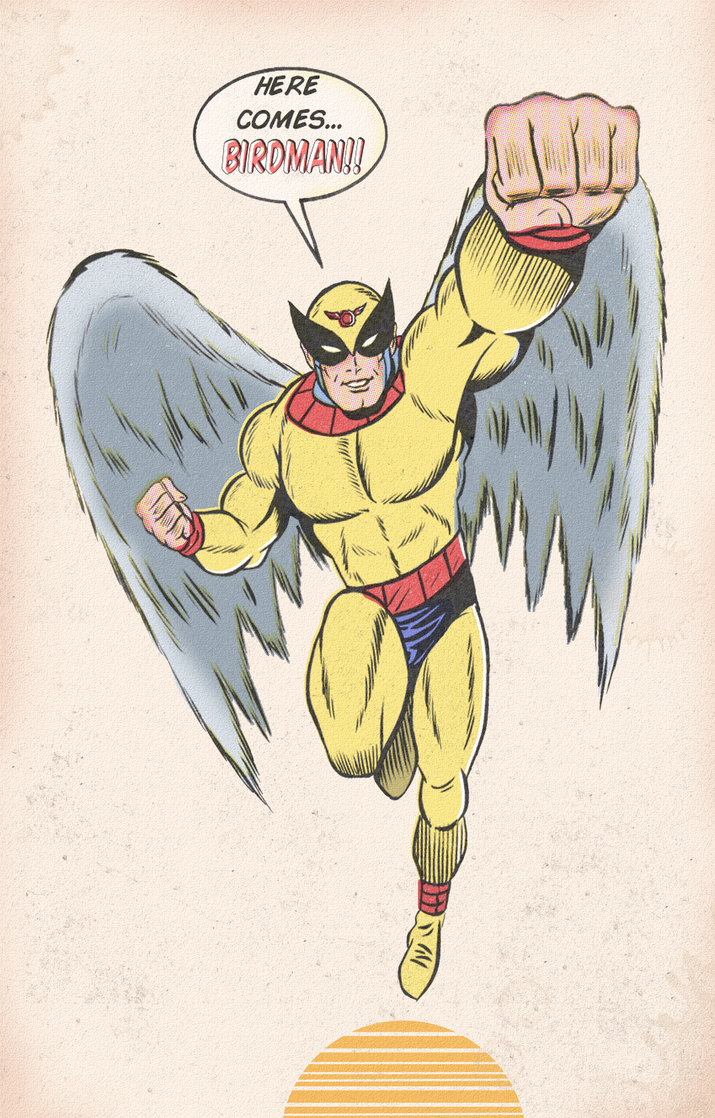 BIRDMAN by paintmarvels
