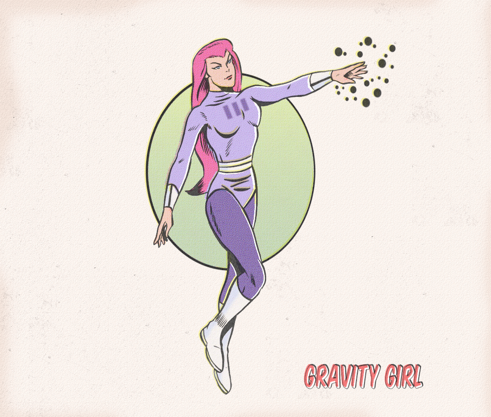 GRAVITY GIRL by paintmarvels