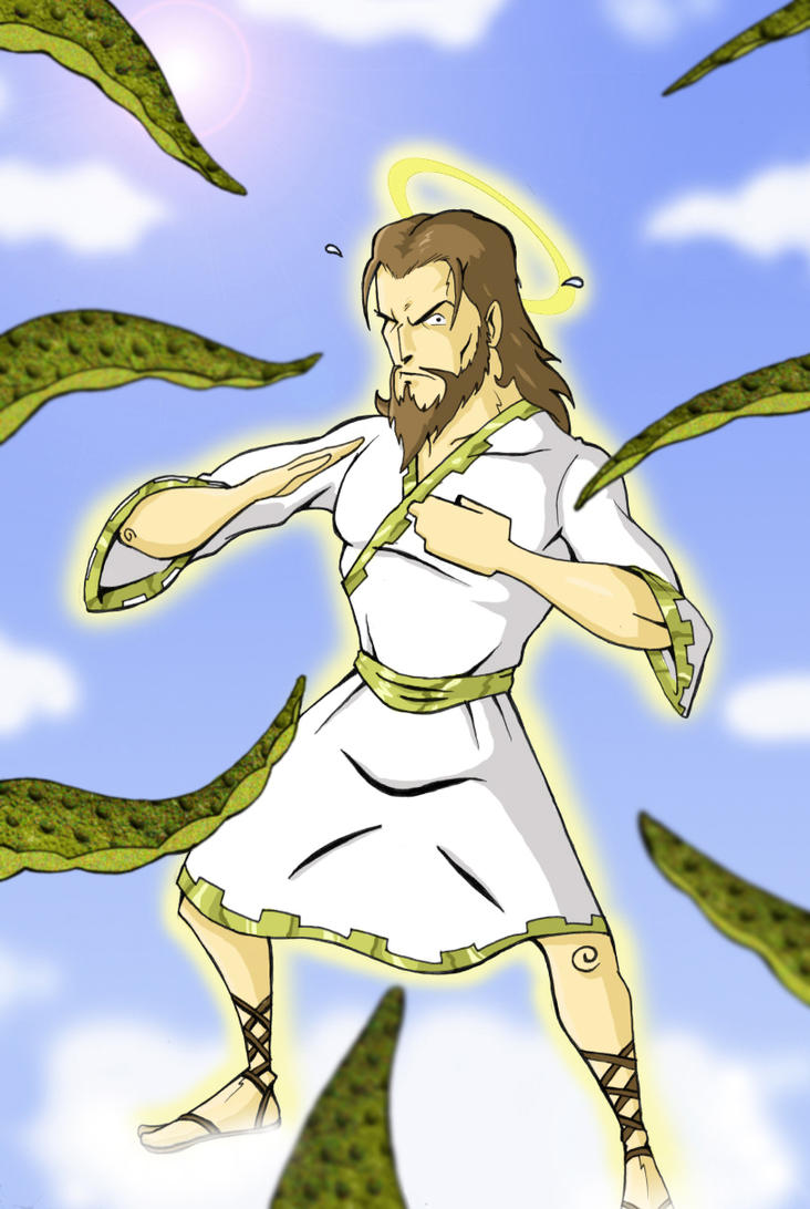 GOD NORRIS by paintmarvels