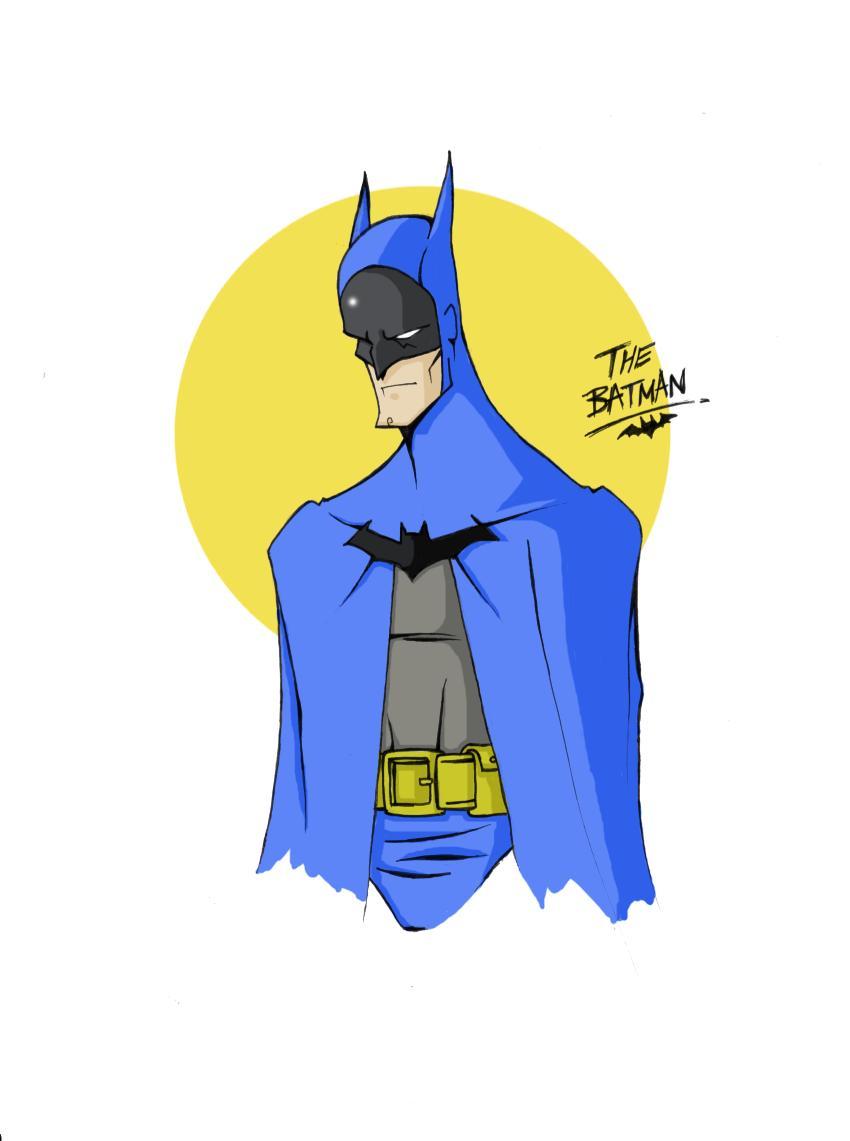 my style batman by paintmarvels