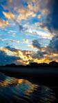 rippled reflection