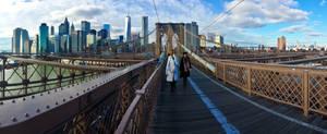 Brooklyn Bridge by xthumbtakx