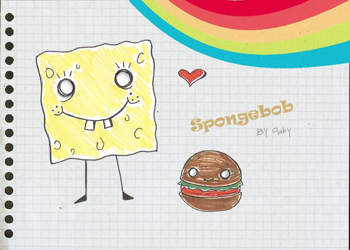 Spongebob by Death-Note-Freak