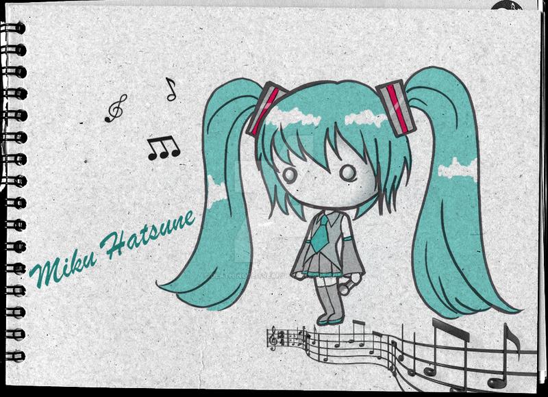 Miku Hatsune by Death-Note-Freak