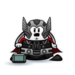 Thor by SquareBugArt