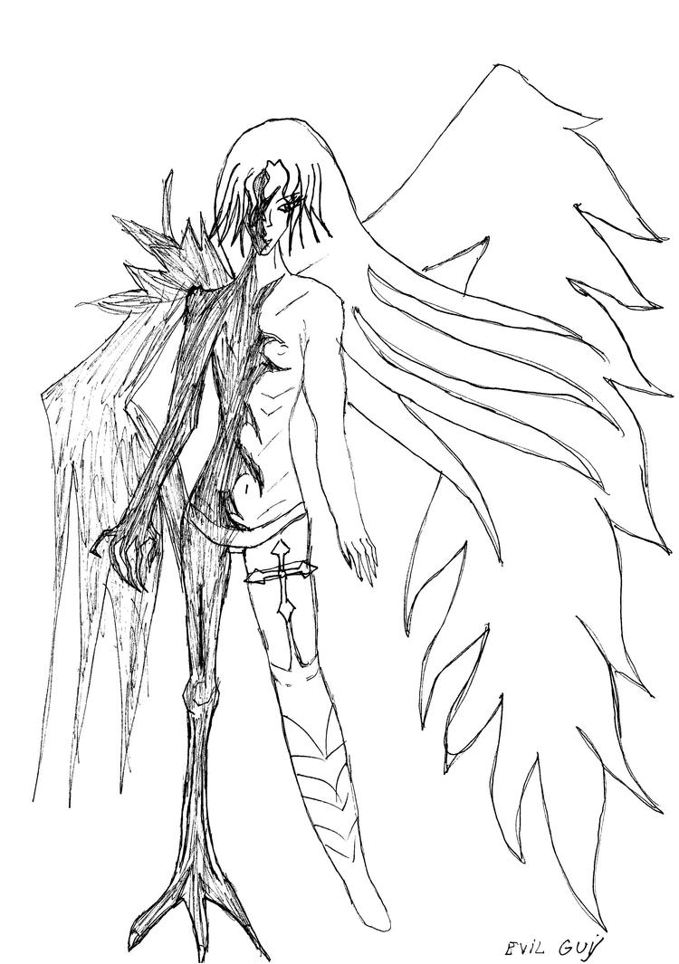 half Angel half Demon by ParvuAndreea on DeviantArt