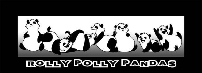 Rolly Polly Pandas by FFA