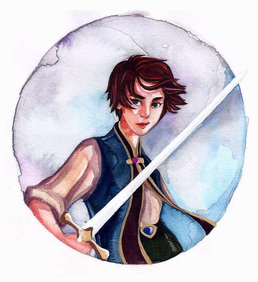 Arya Stark by threkka