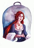 Sansa Stark by threkka