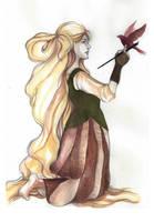 Rapunzel by threkka