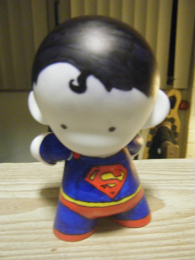 Superman Munny by Super-Tofu