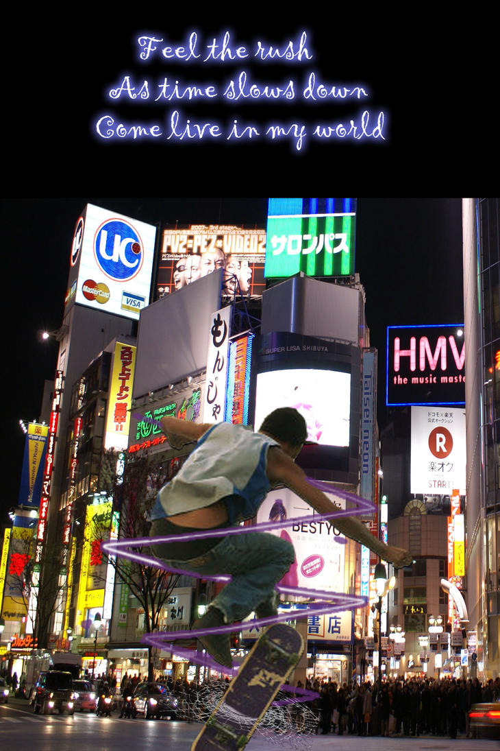 Implied Motion Skater in Japan by zekkus on DeviantArt