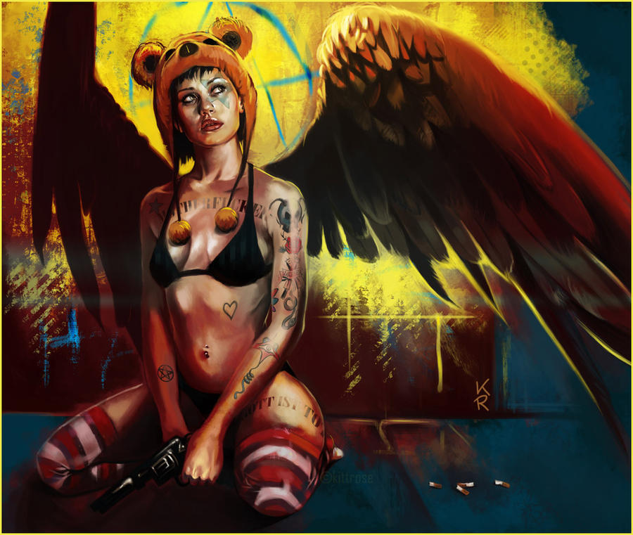 F.A.R. - Fallen Angel Reloaded by kittrose
