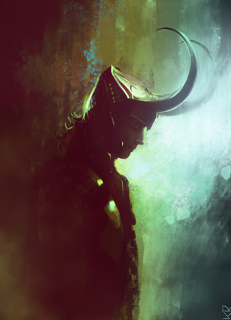 God has horns