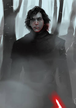 Kylo Ren on Starkiller