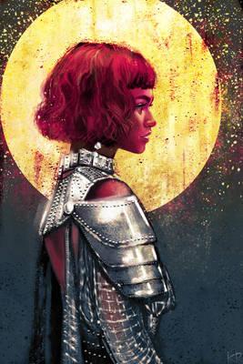 Zendaya as Jeanne d'Arc