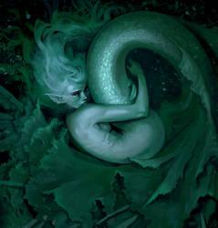 Lettuce mermaid