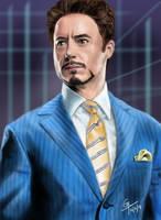 Tony Stark by Gravity9000