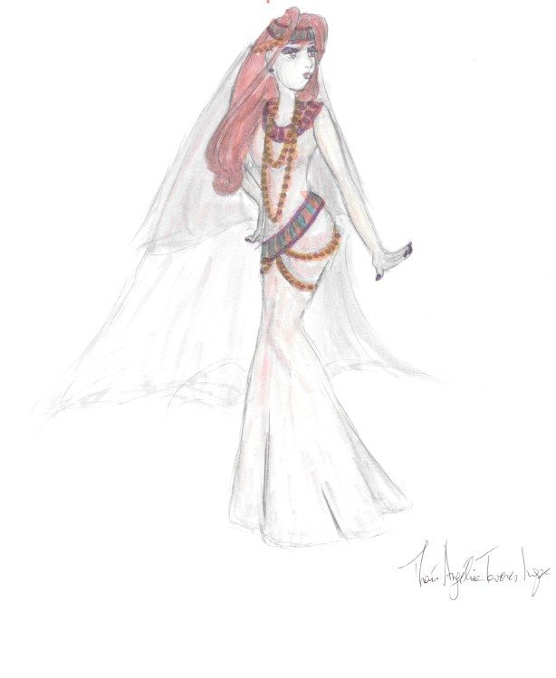 Belly Dancing Bride by AngelicalDesign