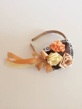 Fall Flower Head Piece