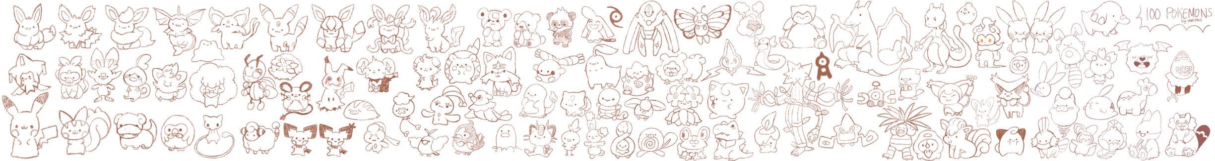 [Dlive] 100 pokemons!