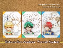 Boku no Hero Academia Portrait Keychain by WeN-XiU