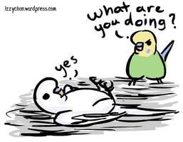 White Bird by izumizagari