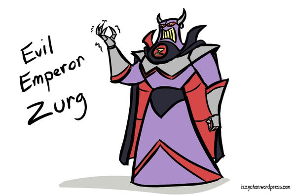Evil Emperor Zurg by izumizagari
