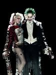 Joker and Harley Quinn PNG #1