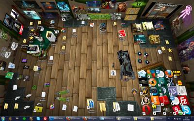 My Desktop with BumpTop