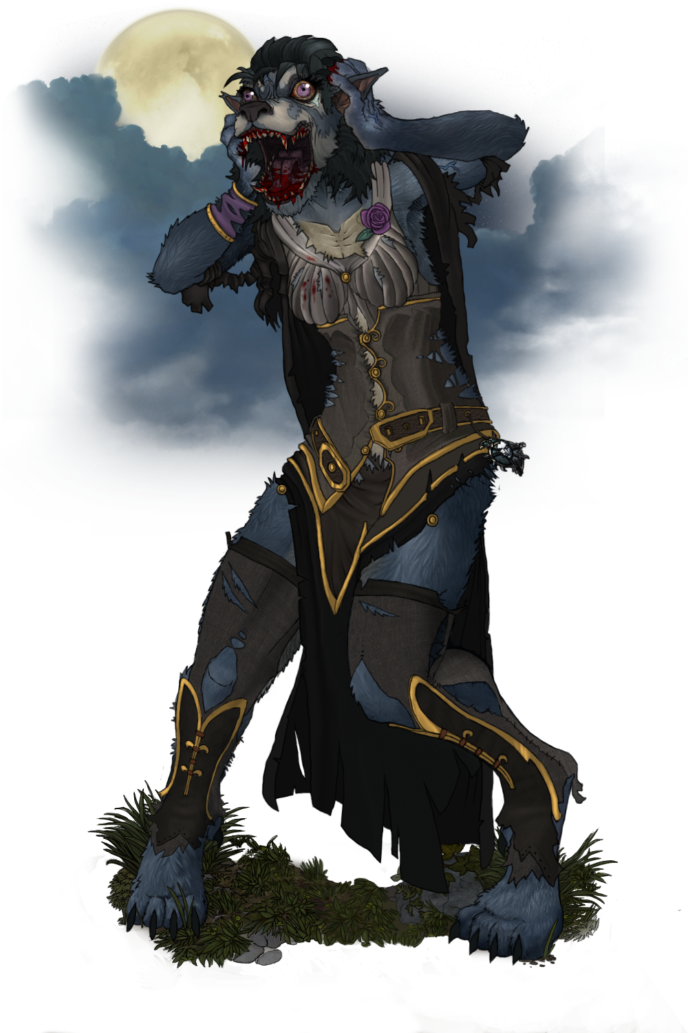 Gueulelune 1 REDUX (alternate render with boots)