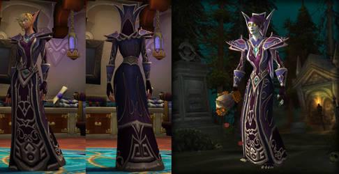 Sorcerer's Regalia (Mage T0,5) HD by Goblinounours