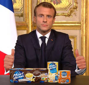 Macron and Mont-Blanc products photoshoot