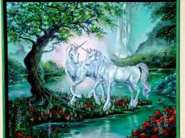 Unicorns by BleakSunset
