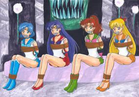 [Comm]Sailor Scouts for Iron117Prime by Kurara-Shikaze