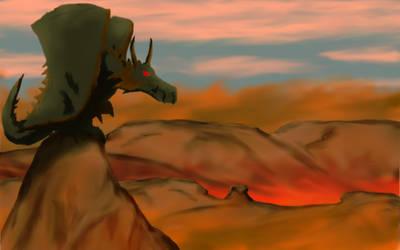 Desert Dragon by randygovasic