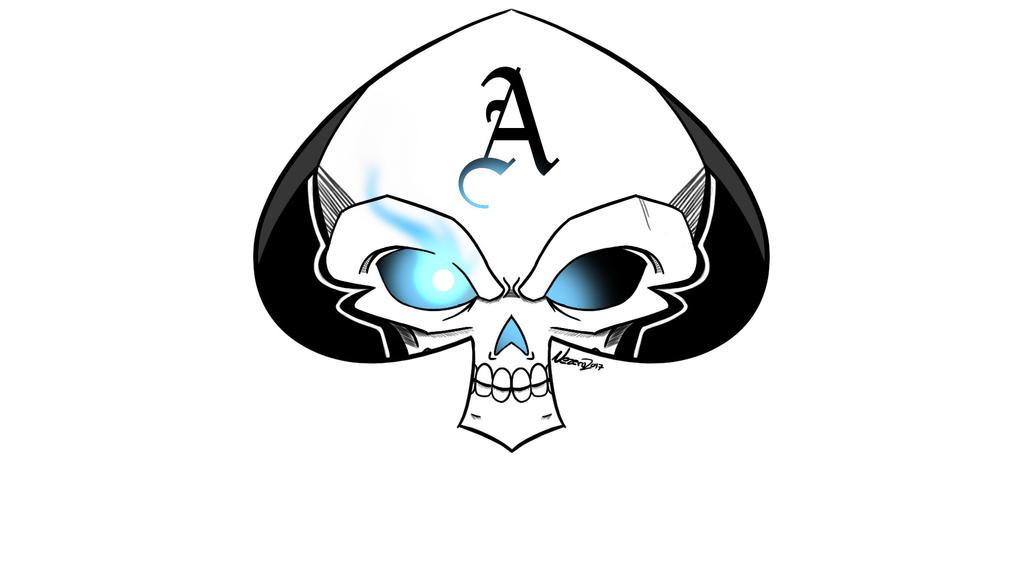 SkullSpade by zeroxx125xx