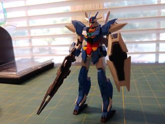 PFF-X7/E3 Earthree Gundam by Gpla-ster90