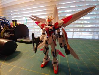 GAT-X105B/CM Build Strike Gundam Cosmos by Gpla-ster90