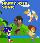Happy 30th Sonic