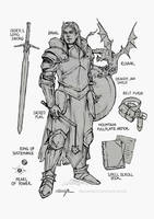 Draal Character Sheet by sara-scmp