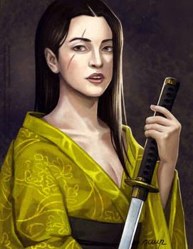 Lady with Kimono Portrait - Commission