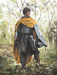 Knight in woods - study by sara-scmp