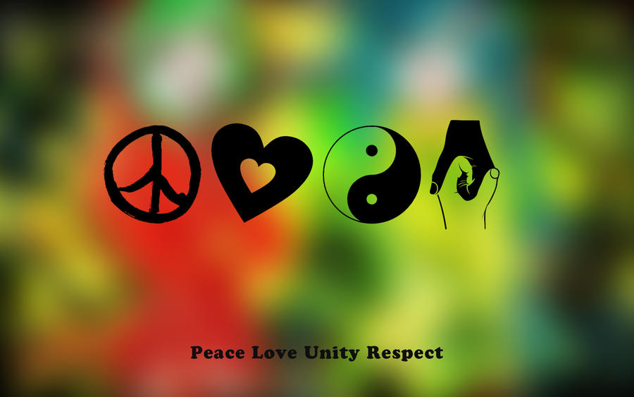 peace love and unity symbol