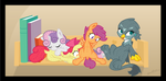 Plushies. by SheraThoz