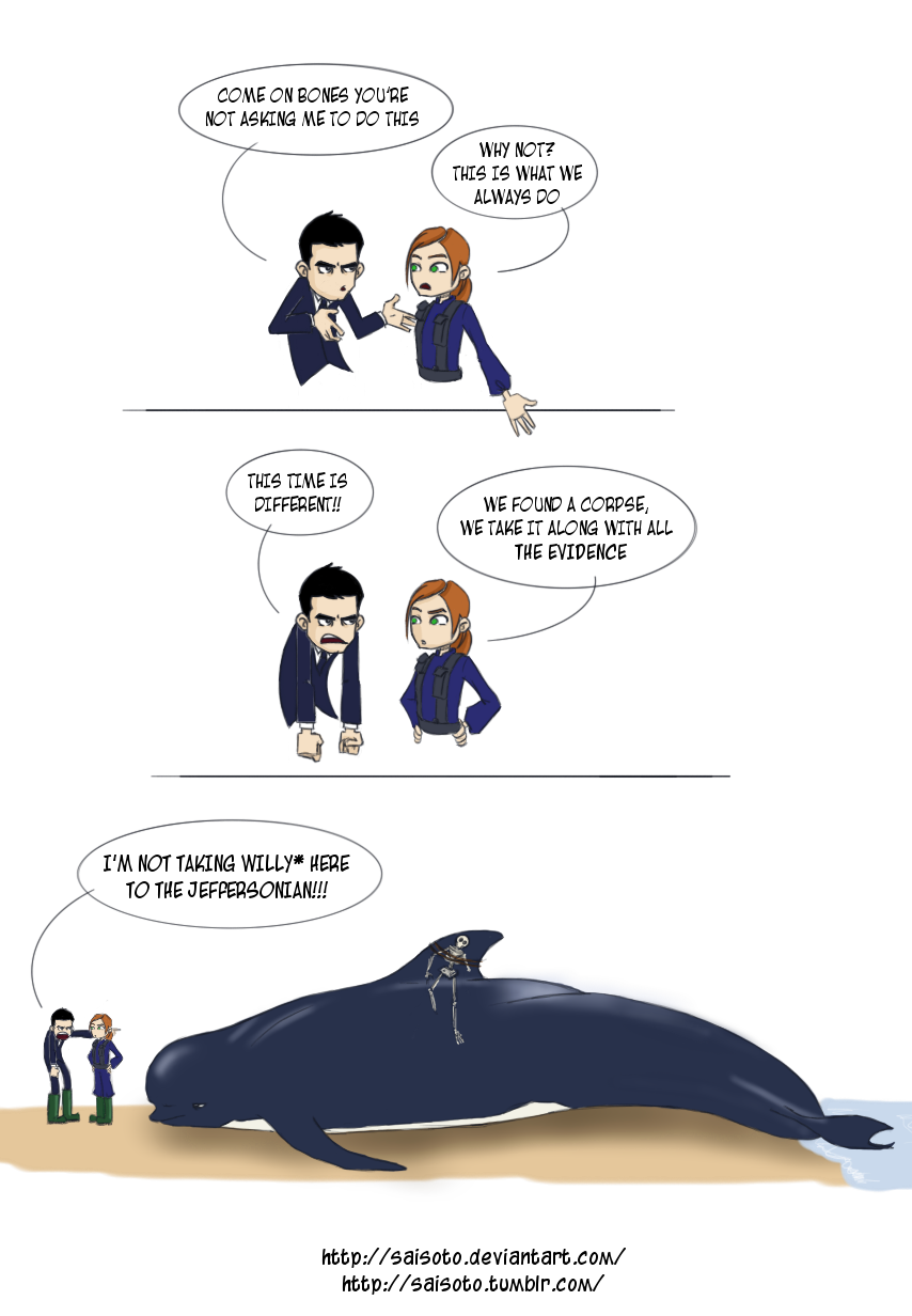 BONES - Free Willy by Saisoto on DeviantArt